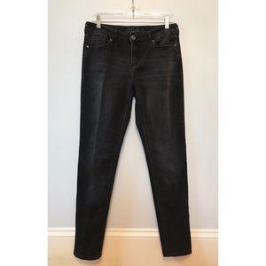 Buffalo MIMI Mid-Rise Slim Boyfriend Black Jeans